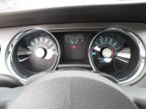 2012 Ford Mustang GT Coupe Gauges