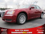 2012 Deep Cherry Red Crystal Pearl Chrysler 300  #60752918