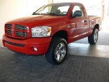 2007 Flame Red Dodge Ram 1500 Sport Regular Cab 4x4 #60753431