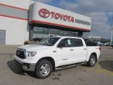 2010 Super White Toyota Tundra TRD CrewMax 4x4 #60752877