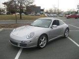 2008 Arctic Silver Metallic Porsche 911 Targa 4 #60753156