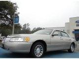 2002 Light Parchment Gold Lincoln Town Car Signature #60752865
