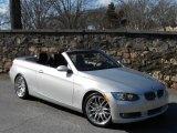 2009 Titanium Silver Metallic BMW 3 Series 335i Convertible #60752849