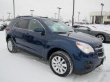 2010 Navy Blue Metallic Chevrolet Equinox LT AWD #60753140
