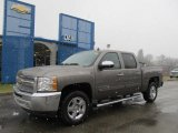 2012 Mocha Steel Metallic Chevrolet Silverado 1500 LT Crew Cab 4x4 #60752835
