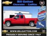 2012 Victory Red Chevrolet Silverado 1500 LT Crew Cab 4x4 #60753362