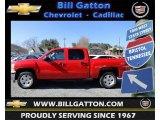 2012 Victory Red Chevrolet Silverado 1500 LT Crew Cab 4x4 #60753357