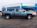 2008 Blue Granite Metallic Chevrolet Silverado 1500 Work Truck Extended Cab #60752787