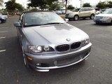 2004 Silver Grey Metallic BMW 3 Series 330i Convertible #60752750