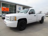 2009 Summit White Chevrolet Silverado 1500 Regular Cab 4x4 #60753071