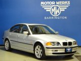 2001 Titanium Silver Metallic BMW 3 Series 325xi Sedan #60752743