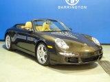 2008 Macadamia Metallic Porsche 911 Carrera 4S Cabriolet #60752736