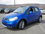 2007 Techno Blue Metallic Suzuki SX4 AWD #6044022