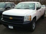 2012 Summit White Chevrolet Silverado 1500 Work Truck Extended Cab 4x4 #60752694