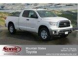 2012 Super White Toyota Tundra Double Cab 4x4 #60752680