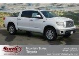 2012 Super White Toyota Tundra Platinum CrewMax 4x4 #60752678