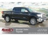 2012 Black Toyota Tundra Platinum CrewMax 4x4 #60752677