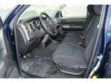 2012 Toyota Tundra Double Cab 4x4 Black Interior