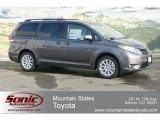 2012 Predawn Gray Mica Toyota Sienna XLE AWD #60752674