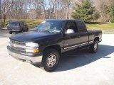 2000 Onyx Black Chevrolet Silverado 1500 LT Extended Cab 4x4 #60753011