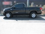 2007 Black Toyota Tundra SR5 Regular Cab #6043721