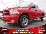 2012 Flame Red Dodge Ram 1500 Express Quad Cab #60752930