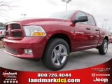 2012 Deep Cherry Red Crystal Pearl Dodge Ram 1500 Express Quad Cab #60752929