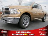 2012 Saddle Brown Pearl Dodge Ram 1500 Big Horn Crew Cab #60752928