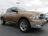 Saddle Brown Pearl Dodge Ram 1500 in 2012