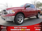 2012 Deep Cherry Red Crystal Pearl Dodge Ram 1500 Big Horn Crew Cab #60752927