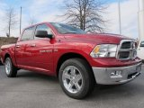 Deep Cherry Red Crystal Pearl Dodge Ram 1500 in 2012
