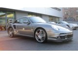 2007 Meteor Grey Metallic Porsche 911 Turbo Coupe #60805214