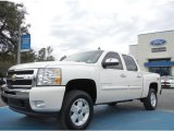 2011 White Diamond Tricoat Chevrolet Silverado 1500 LT Crew Cab 4x4 #60804948