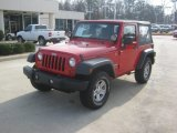 2011 Flame Red Jeep Wrangler Sport 4x4 #60805168