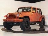 2010 Jeep Wrangler Unlimited Mango Tango Pearl