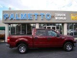 2006 Dark Toreador Red Metallic Ford F150 XLT SuperCrew #60805086