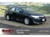 2012 Attitude Black Metallic Toyota Camry LE #60804800