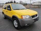 2002 Ford Escape Chrome Yellow