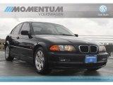 2000 Jet Black BMW 3 Series 323i Sedan #60839875