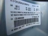 2002 Sebring Color Code for Sterling Blue Satin Glow - Color Code: PB2