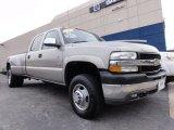 2002 Light Pewter Metallic Chevrolet Silverado 3500 LT Crew Cab 4x4 Dually #60839433