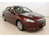2011 Basque Red Pearl Honda Accord EX-L Sedan #60839784