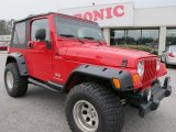 2006 Flame Red Jeep Wrangler Sport 4x4 #60839424