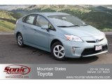 2012 Sea Glass Pearl Toyota Prius 3rd Gen Two Hybrid #60839087