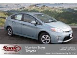 2012 Sea Glass Pearl Toyota Prius 3rd Gen Two Hybrid #60839085