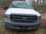2002 Oxford White Ford F250 Super Duty XL Crew Cab #60839346