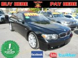 2003 Black Sapphire Metallic BMW 7 Series 745i Sedan #60805302