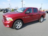 2012 Deep Cherry Red Crystal Pearl Dodge Ram 1500 Express Crew Cab 4x4 #60805292