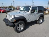 2012 Bright Silver Metallic Jeep Wrangler Rubicon 4X4 #60805291