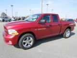 2012 Deep Cherry Red Crystal Pearl Dodge Ram 1500 Express Quad Cab 4x4 #60805285